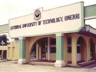 courses offered in futo and their cut off marks