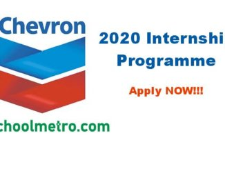 2020 chevron internship application