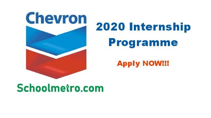 2020 chevron internship application