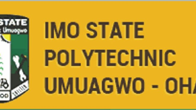 courses offered in imo poly and their cut off marks