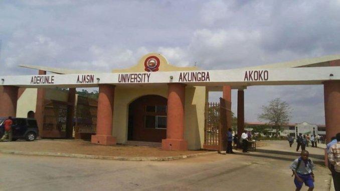 list of courses offered in adekunle ajasin university