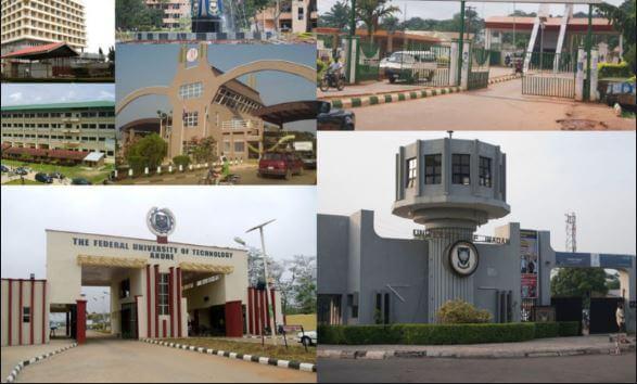 list of universities in nigeria