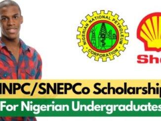 NNPC SNPEPco Scholarship 2020