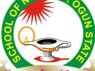 Ogun state School of Nursing Exam