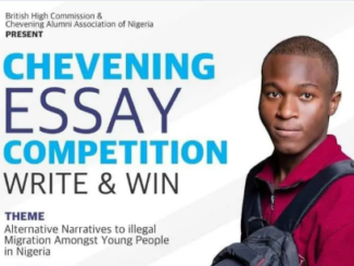 Chevening Essay Competition 2021