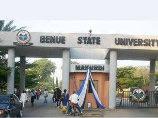 Benue State University Pre Degree Admission Form